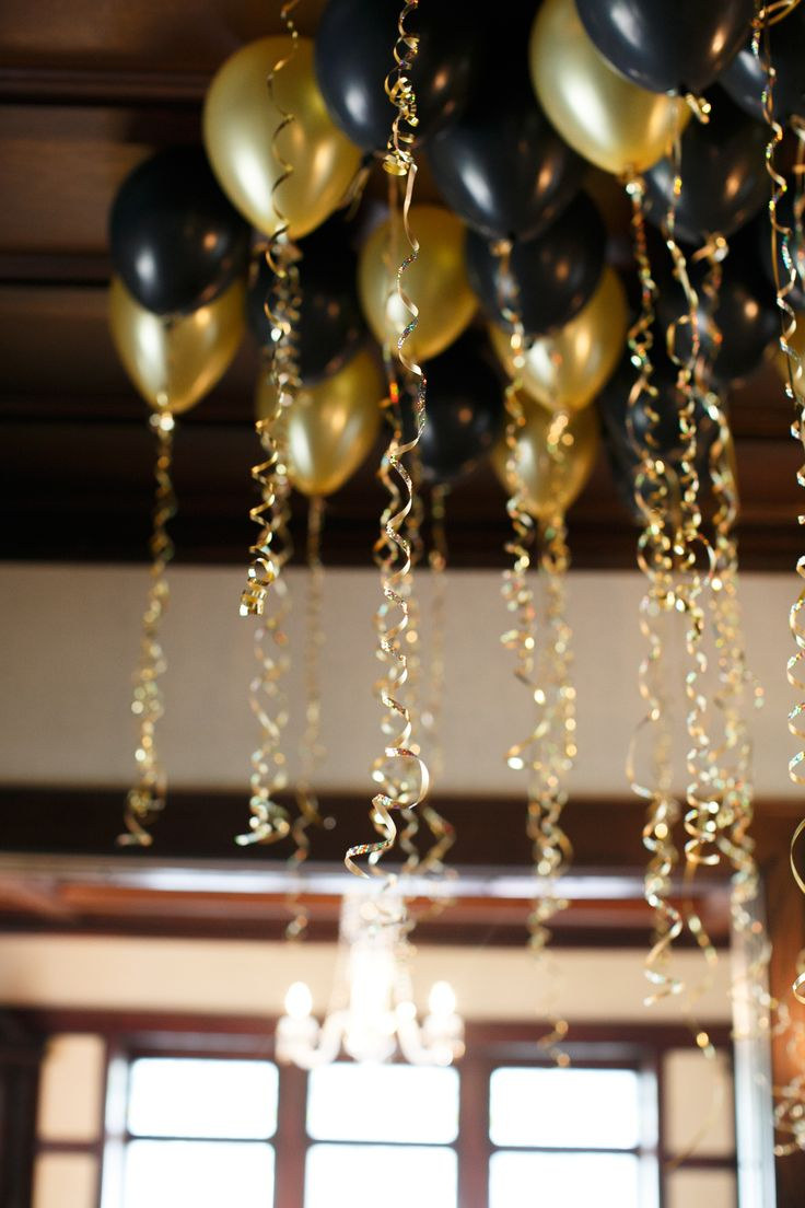 At 40 Party Decorations Party Department Black And Golds