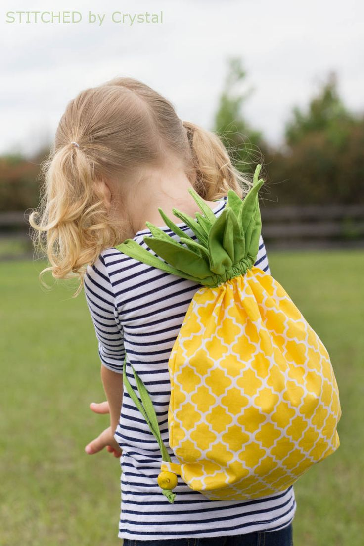 DIY :: Pineapple Bag