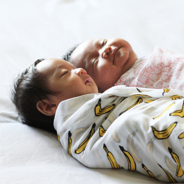 New Launch - Organic Muslin Swaddles by Le Petit Society